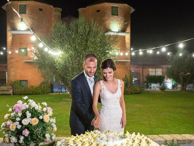 Il matrimonio di Valerio e Fabiana a Anguillara Sabazia, Roma 42