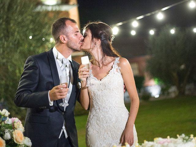 Il matrimonio di Valerio e Fabiana a Anguillara Sabazia, Roma 43