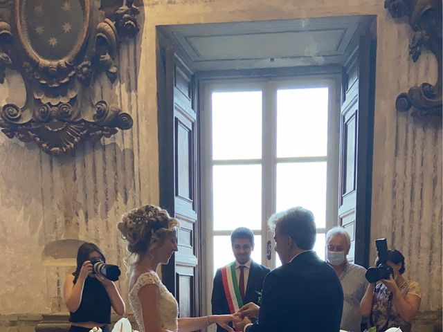 Il matrimonio di Marcello e Monica  a Oriolo Romano, Viterbo 3