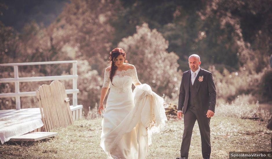 Il matrimonio di Cristiano e Federica a Carpineto Romano, Roma