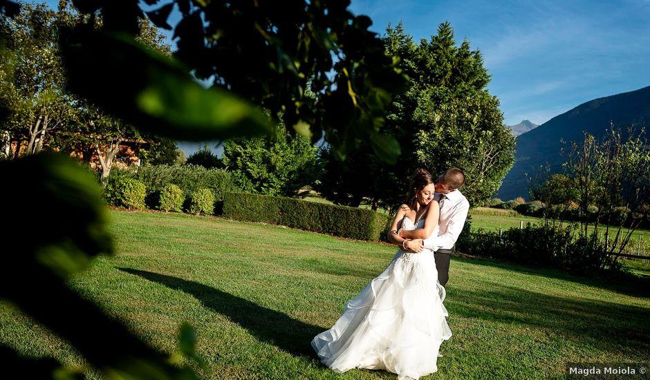 Il matrimonio di Paolo e Monica a Mazzo di Valtellina, Sondrio