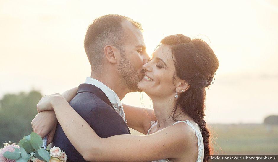 Il matrimonio di Valerio e Fabiana a Anguillara Sabazia, Roma