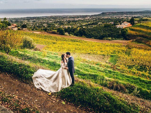 le nozze di Anna e Alfio