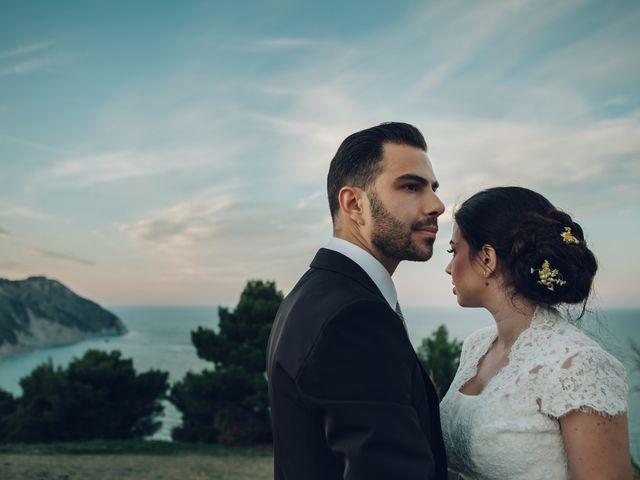 Il matrimonio di Lorenzo e Federica a Sirolo, Ancona 2