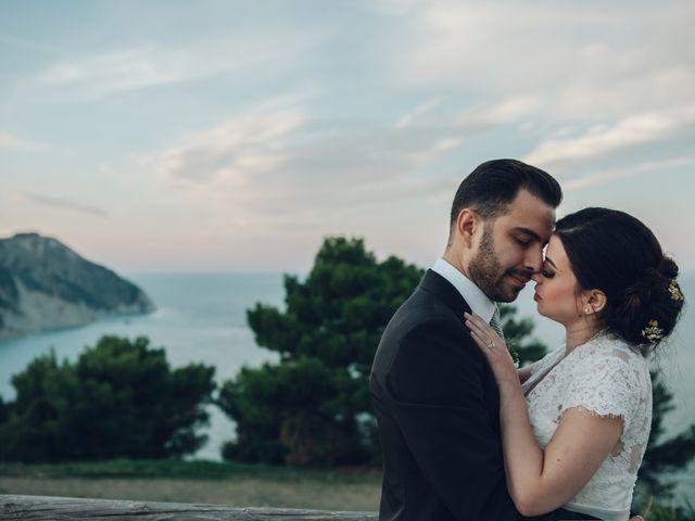Il matrimonio di Lorenzo e Federica a Sirolo, Ancona 123