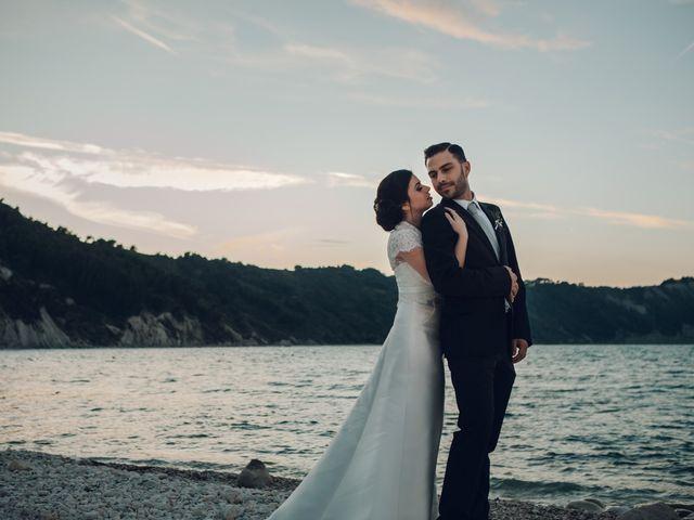 Il matrimonio di Lorenzo e Federica a Sirolo, Ancona 129