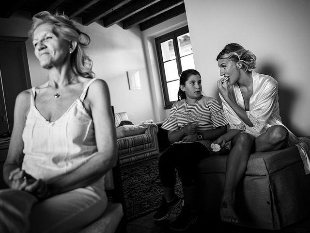 Il matrimonio di Mattia e Marzia a Corte Franca, Brescia 20