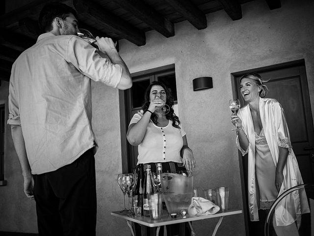 Il matrimonio di Mattia e Marzia a Corte Franca, Brescia 30