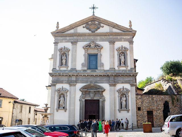 Il matrimonio di Mattia e Marzia a Corte Franca, Brescia 49