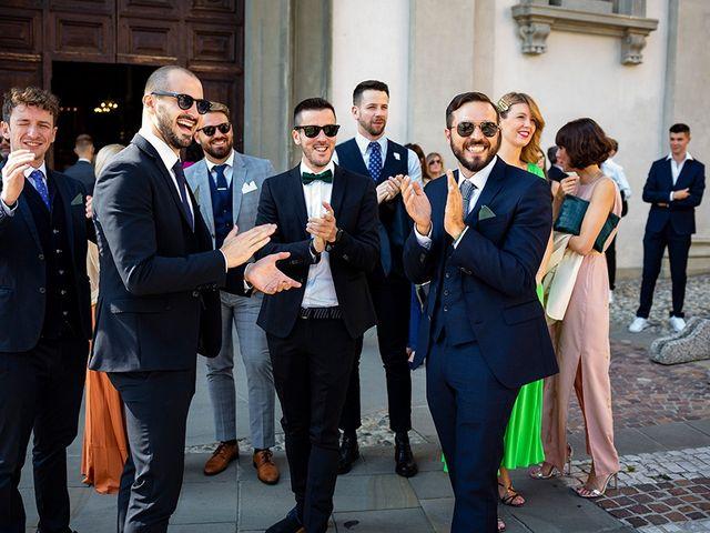 Il matrimonio di Mattia e Marzia a Corte Franca, Brescia 50