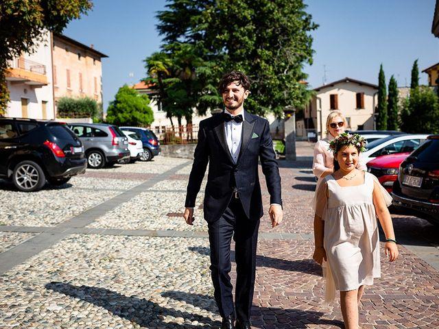 Il matrimonio di Mattia e Marzia a Corte Franca, Brescia 51