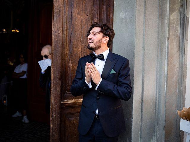 Il matrimonio di Mattia e Marzia a Corte Franca, Brescia 54