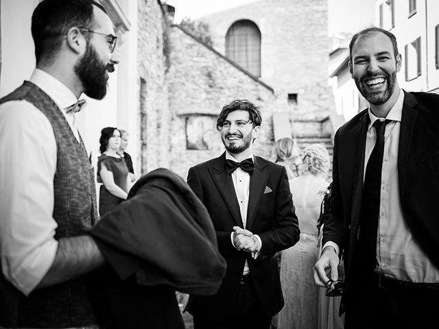 Il matrimonio di Mattia e Marzia a Corte Franca, Brescia 57