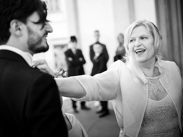 Il matrimonio di Mattia e Marzia a Corte Franca, Brescia 63