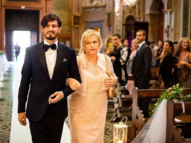 Il matrimonio di Mattia e Marzia a Corte Franca, Brescia 64
