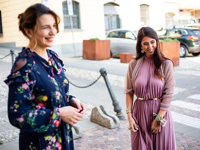 Il matrimonio di Mattia e Marzia a Corte Franca, Brescia 66