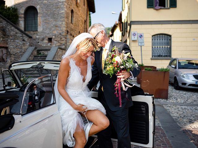 Il matrimonio di Mattia e Marzia a Corte Franca, Brescia 68