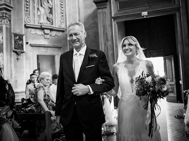 Il matrimonio di Mattia e Marzia a Corte Franca, Brescia 70