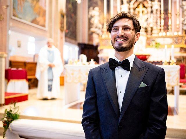 Il matrimonio di Mattia e Marzia a Corte Franca, Brescia 71