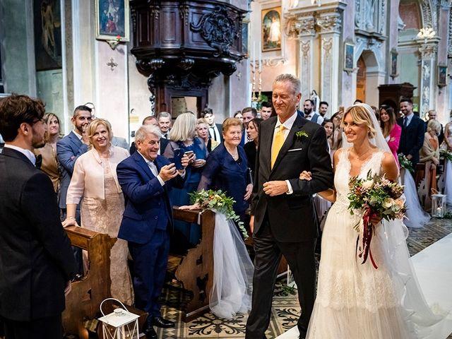 Il matrimonio di Mattia e Marzia a Corte Franca, Brescia 72