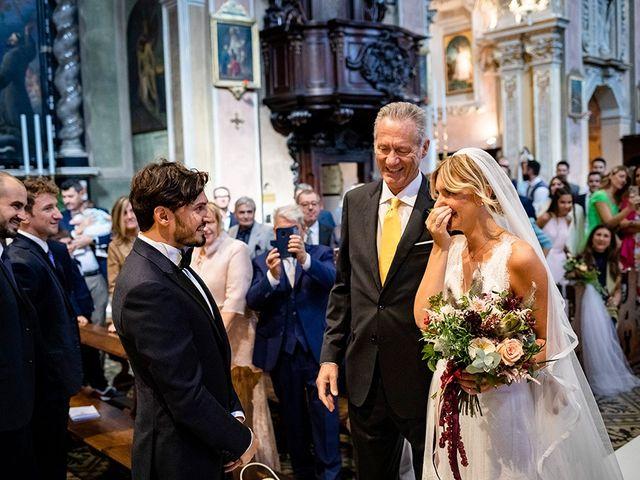 Il matrimonio di Mattia e Marzia a Corte Franca, Brescia 73