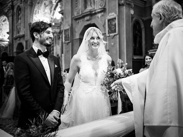 Il matrimonio di Mattia e Marzia a Corte Franca, Brescia 74