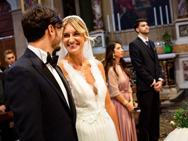 Il matrimonio di Mattia e Marzia a Corte Franca, Brescia 75