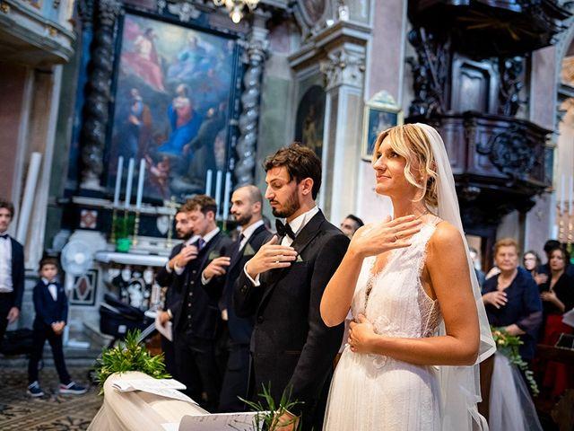 Il matrimonio di Mattia e Marzia a Corte Franca, Brescia 76