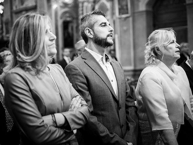 Il matrimonio di Mattia e Marzia a Corte Franca, Brescia 78