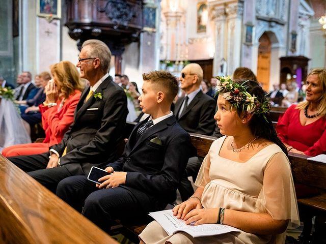 Il matrimonio di Mattia e Marzia a Corte Franca, Brescia 79