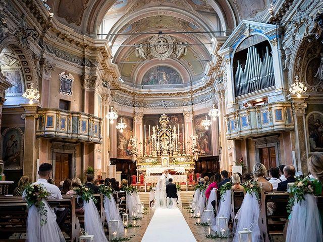 Il matrimonio di Mattia e Marzia a Corte Franca, Brescia 80