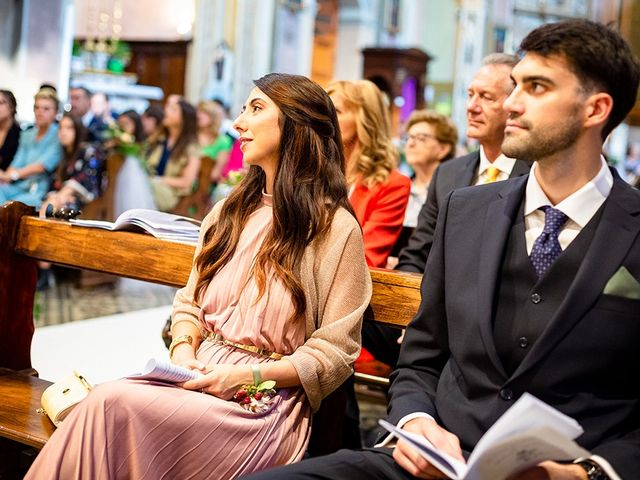 Il matrimonio di Mattia e Marzia a Corte Franca, Brescia 83