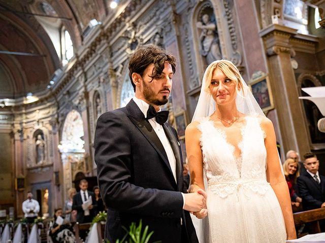 Il matrimonio di Mattia e Marzia a Corte Franca, Brescia 84