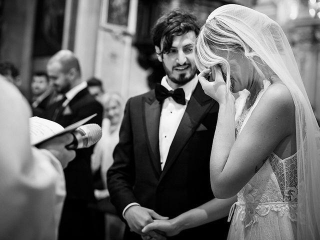 Il matrimonio di Mattia e Marzia a Corte Franca, Brescia 85