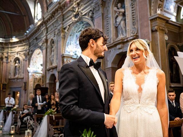 Il matrimonio di Mattia e Marzia a Corte Franca, Brescia 86