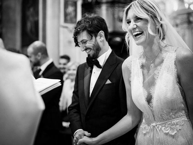 Il matrimonio di Mattia e Marzia a Corte Franca, Brescia 87