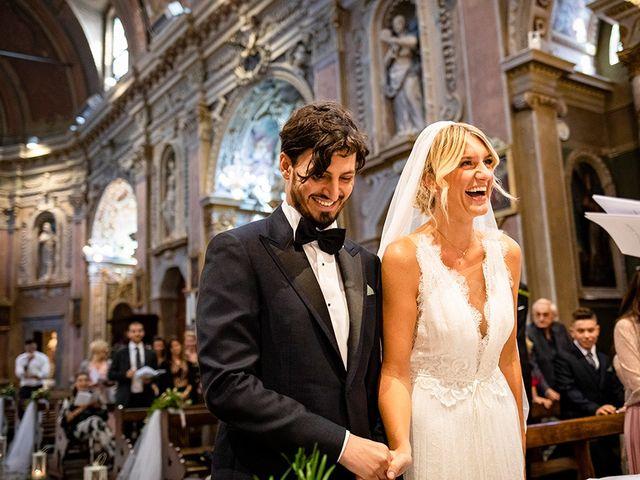 Il matrimonio di Mattia e Marzia a Corte Franca, Brescia 88