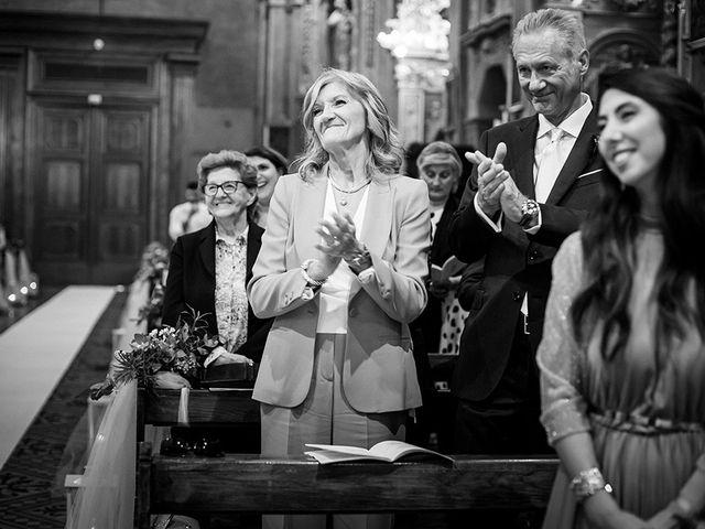 Il matrimonio di Mattia e Marzia a Corte Franca, Brescia 89