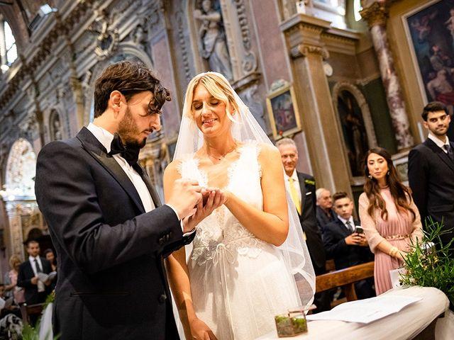 Il matrimonio di Mattia e Marzia a Corte Franca, Brescia 90