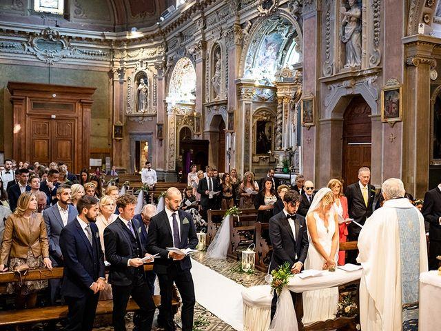Il matrimonio di Mattia e Marzia a Corte Franca, Brescia 91
