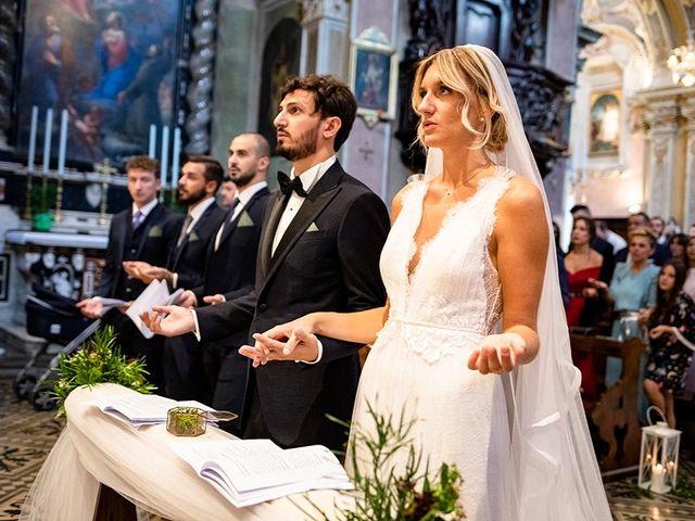 Il matrimonio di Mattia e Marzia a Corte Franca, Brescia 92