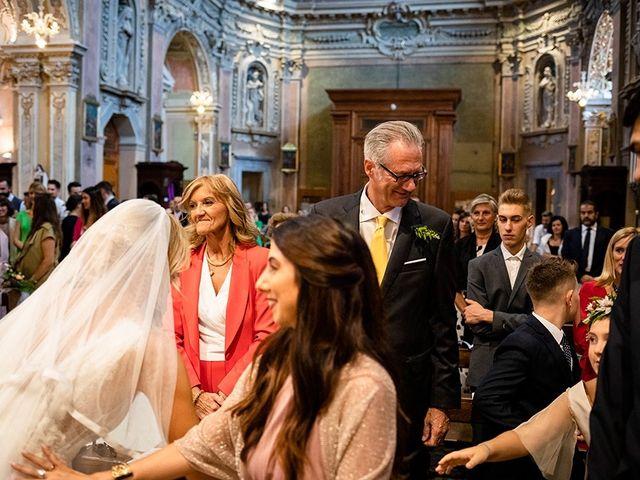 Il matrimonio di Mattia e Marzia a Corte Franca, Brescia 93
