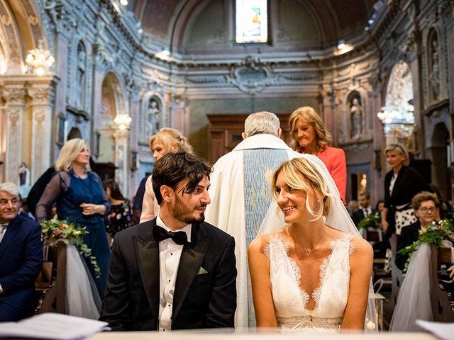 Il matrimonio di Mattia e Marzia a Corte Franca, Brescia 94
