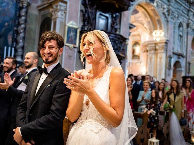 Il matrimonio di Mattia e Marzia a Corte Franca, Brescia 95