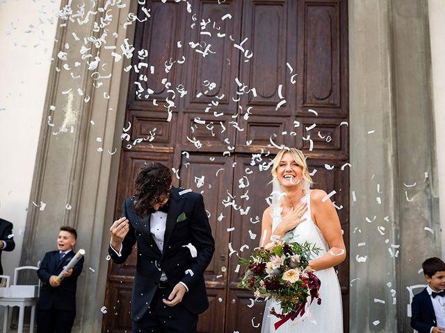 Il matrimonio di Mattia e Marzia a Corte Franca, Brescia 96