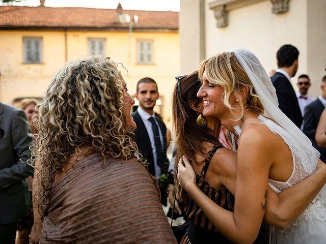 Il matrimonio di Mattia e Marzia a Corte Franca, Brescia 98