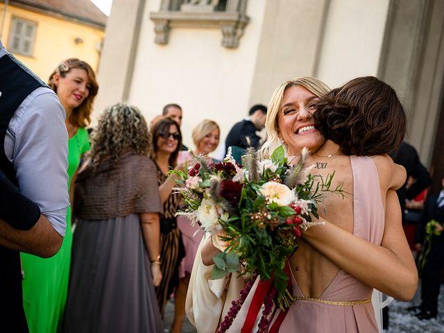 Il matrimonio di Mattia e Marzia a Corte Franca, Brescia 99