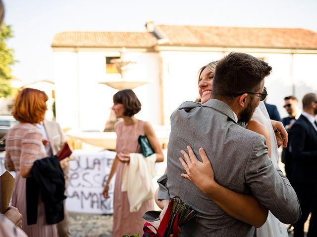 Il matrimonio di Mattia e Marzia a Corte Franca, Brescia 100
