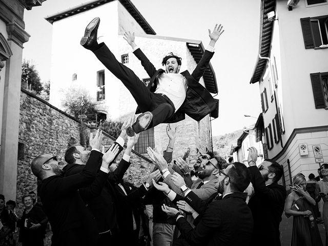 Il matrimonio di Mattia e Marzia a Corte Franca, Brescia 102