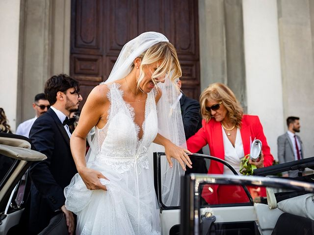 Il matrimonio di Mattia e Marzia a Corte Franca, Brescia 105